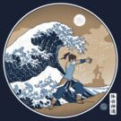 Avatar Waterbender Great Wave by Adho1982