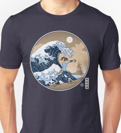 Avatar Waterbender Great Wave T-Shirt