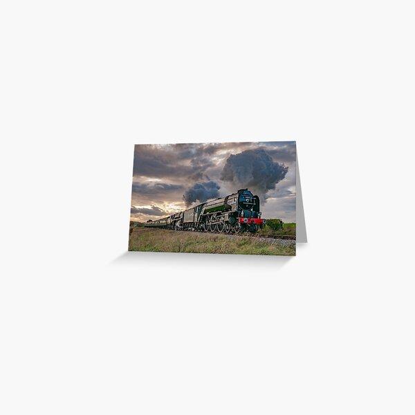 60163 Tornado and 70000 Britannia Greeting Card