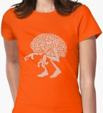Braindead. Womens Fitted T-Shirt