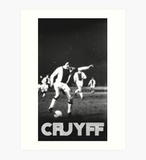 Vintage Cruyff Art Print