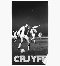 Póster Vintage Cruyff