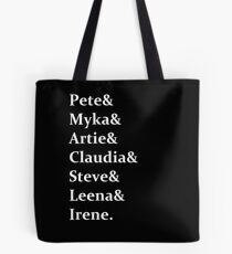 Warehouse 13 - Cast Tote Bag
