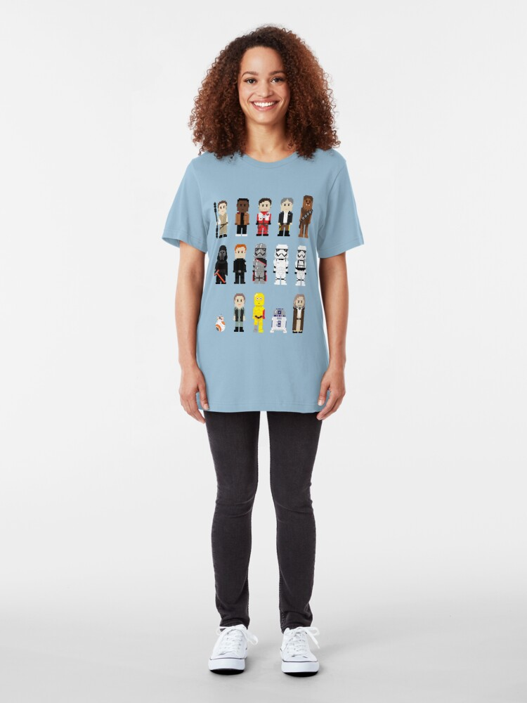Alternate view of 8-Bit TFA Slim Fit T-Shirt