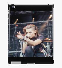 Lynn Gunn Singing crouch iPad Case/Skin