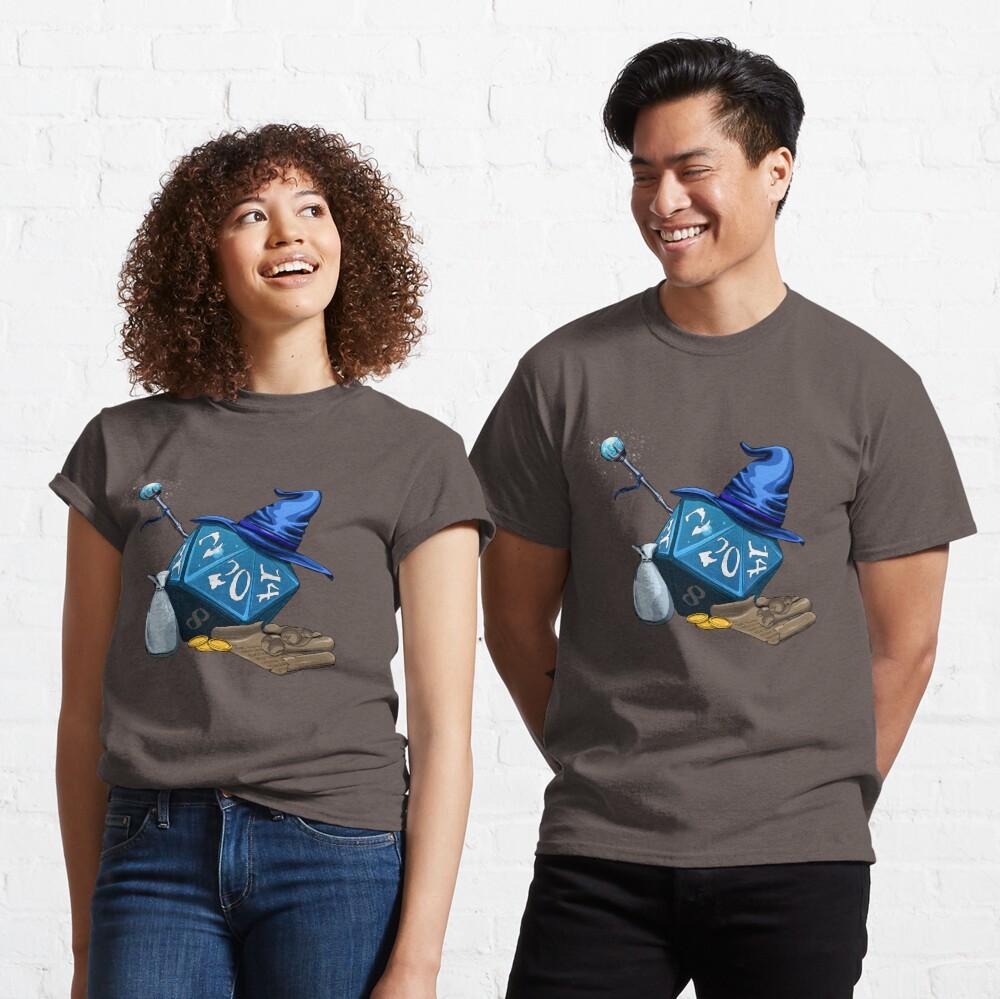 D20 Wizard Classic T-Shirt