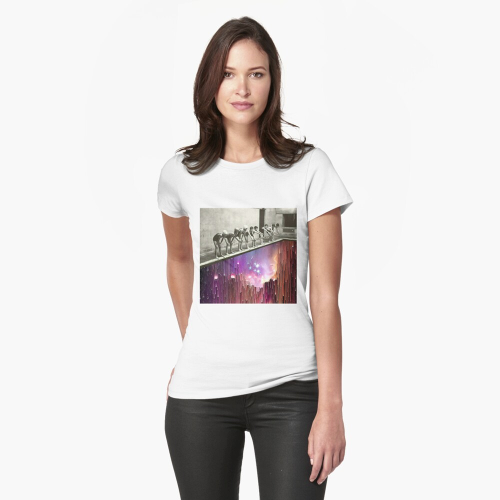 Skydiving II Fitted T-Shirt