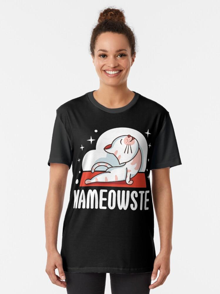Alternative Ansicht von NAMEOWSTE Grafik T-Shirt