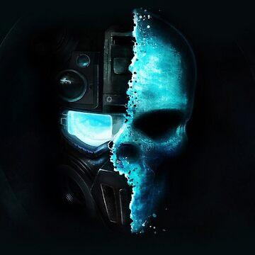 Tom Clancy's Splinter Cell Skull by webso