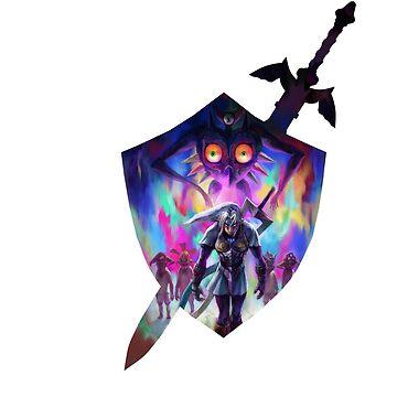 zelda sword and shield by xcharls1