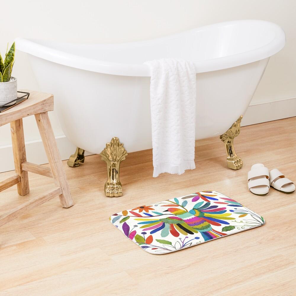 otomi bird Bath Mat