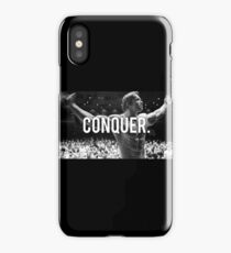 CONQUER (Arnold Poster) iPhone Case/Skin