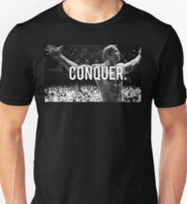 CONQUER (Arnold Poster) Unisex T-Shirt