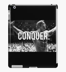 CONQUER (Arnold Poster) iPad Case/Skin