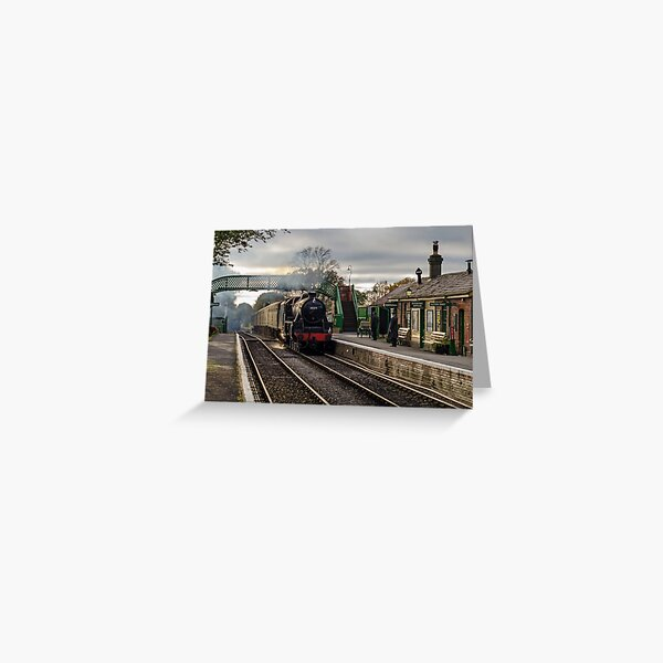 The Watercress Line Greeting Card