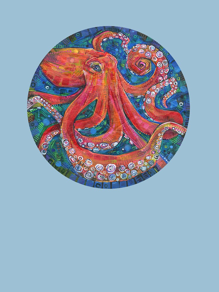 Octopus Painting - 2015 by gwennpaints