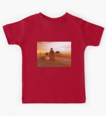 ARES CYBORG IN THE DESERT OF HYPERION,Sci Fi Movie Kids Clothes