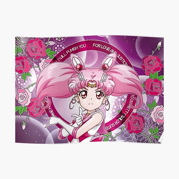 Sailor Chibi Moon - Sailor Moon Crystal III (EDT) Poster