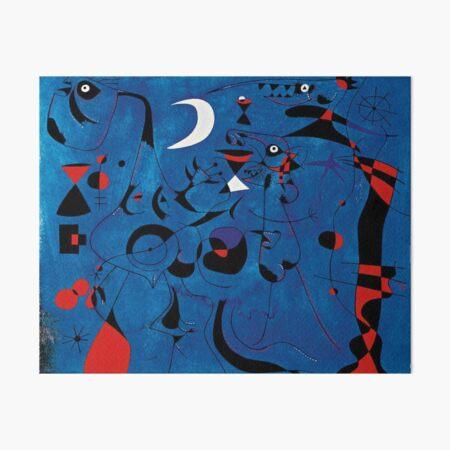 Peinture de Joan Miró Impression rigide