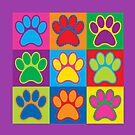 Pop Art Paws by Lisann