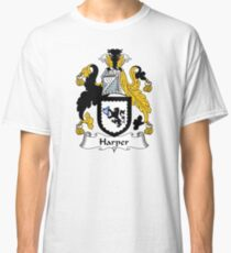 Harper Coat of Arms / Harper Family Crest Classic T-Shirt