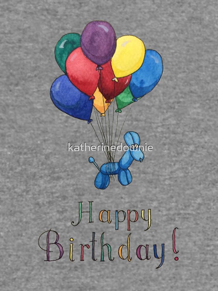 Ballon Tier Geburtstagsballons! von katherinedownie