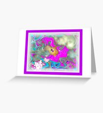 All One People Planet Love Greeting Card