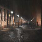 Wet Evening in Krakow by Vira Kalinovska