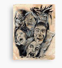 Evil Dead Caffeine Shock Canvas Print