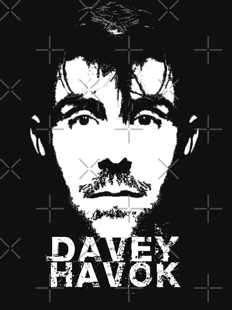 Davey havok face tee by chromedesign