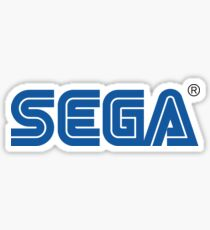 Sega classic arcade and console games Sticker