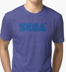 Sega classic arcade and console games Tri-blend T-Shirt
