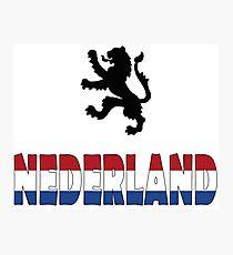 Nederland Photographic Print