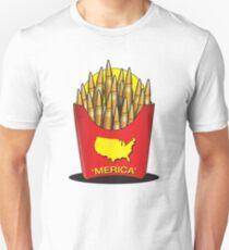 28a7770f5 Merica Freedom Fries Slim Fit T-Shirt