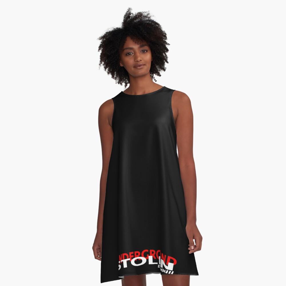 STOLEN UNDERGROUND CLASSIC LOGO A-Line Dress