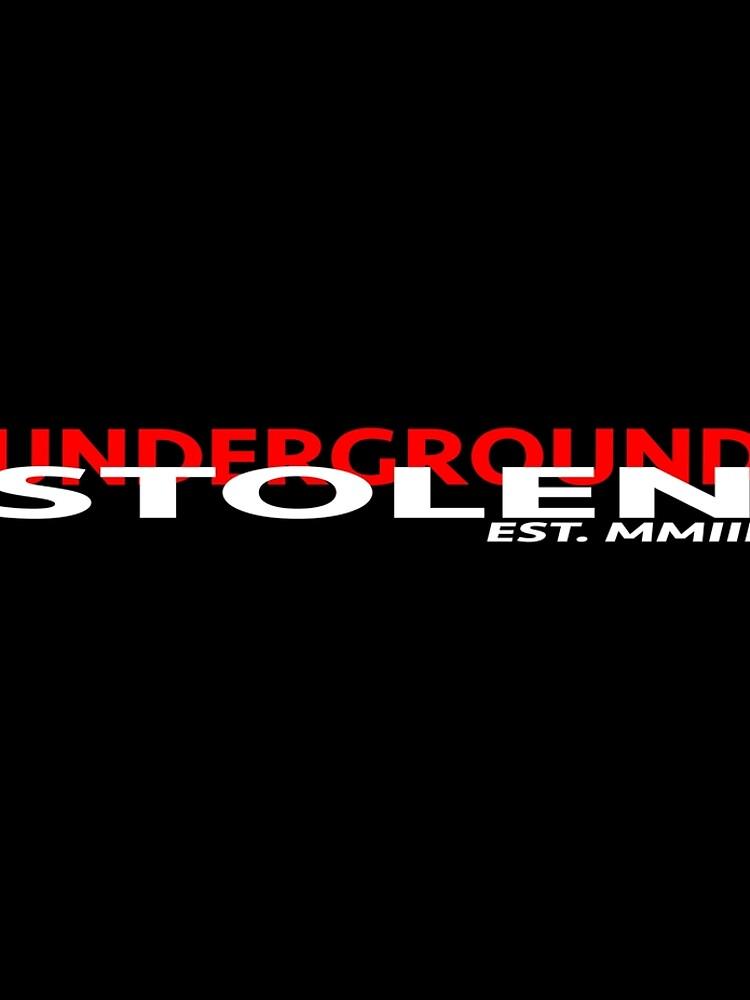 STOLEN UNDERGROUND CLASSIC LOGO by StlnUndrgrnd