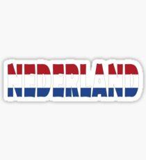 Nederland Sticker