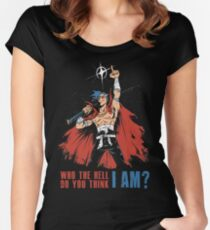 Kamina!! Women's Fitted Scoop T-Shirt
