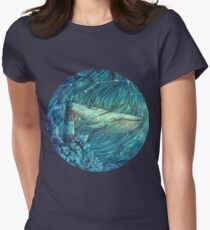 Moonlit Sea Women's Fitted T-Shirt