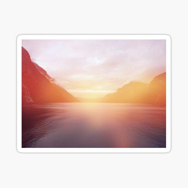 landscape 01 Sticker