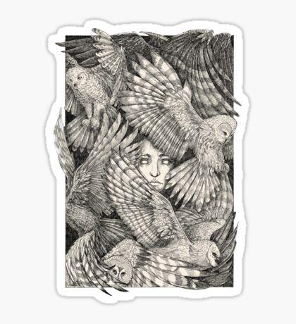 Daughter of Owls Sticker