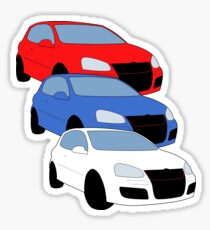 GTI MKV Sticker