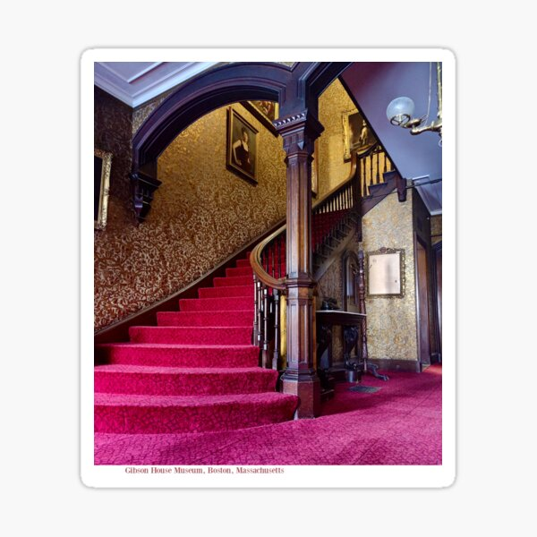 Gibson House Front Staircase Sticker