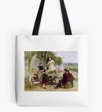 William Henry Knight - Rivals to Blondin  Tote Bag