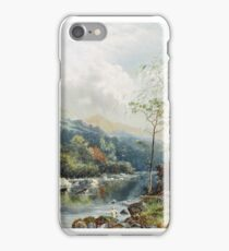 William Henry Mander - On the Dee iPhone Case/Skin