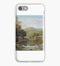 William Henry Mander - Tranquil Waters iPhone Case/Skin