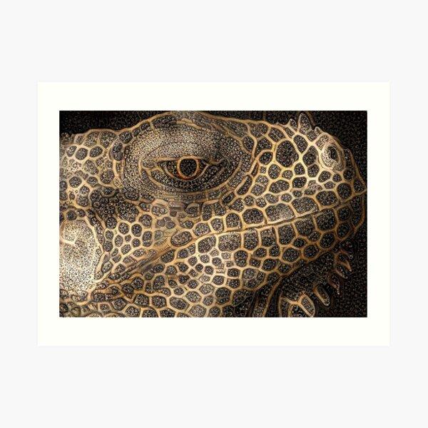 Tales of the Golden Lizard Art Print