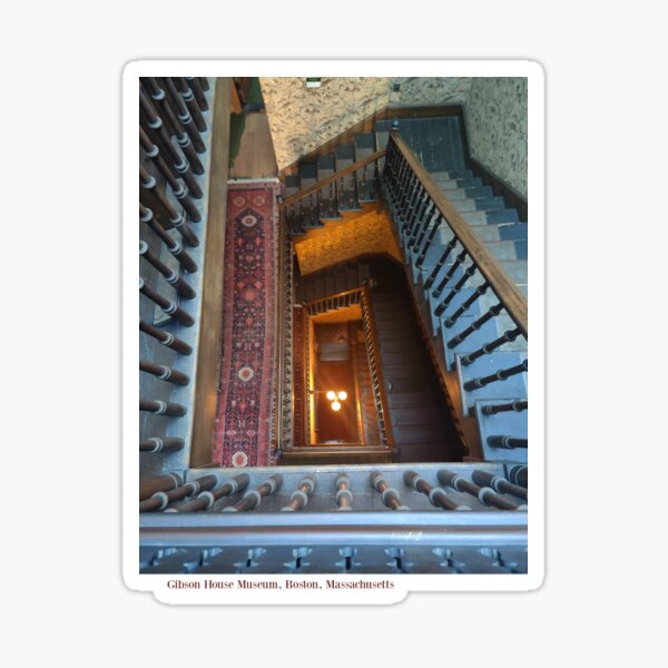Gibson House Back Staircase Sticker