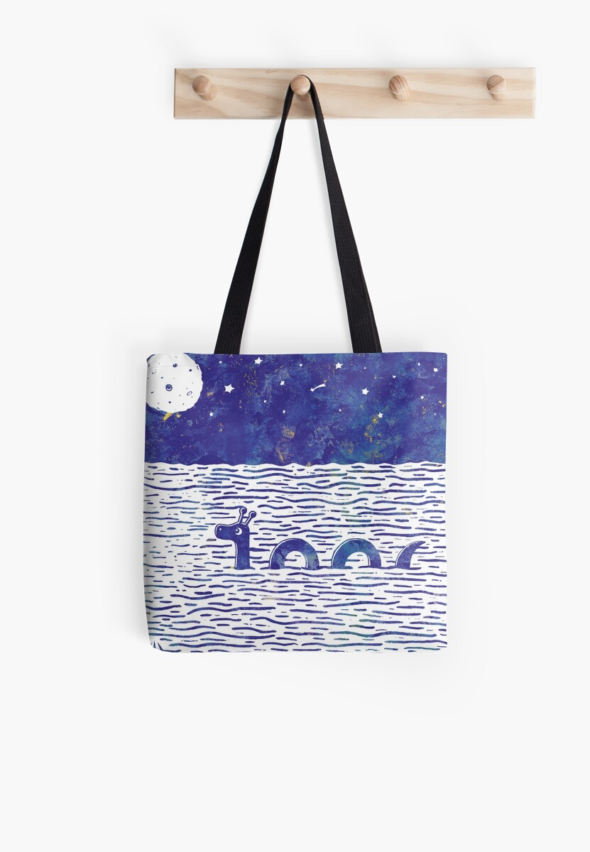 Nightswimming Nessie by Lilian Howaldt