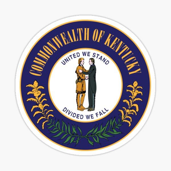 Kentucky State Seal Sticker